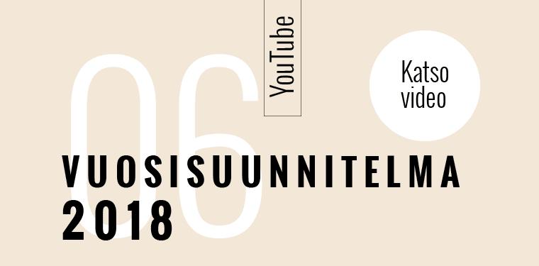 Vuosisuunnitelma vuodelle 2018