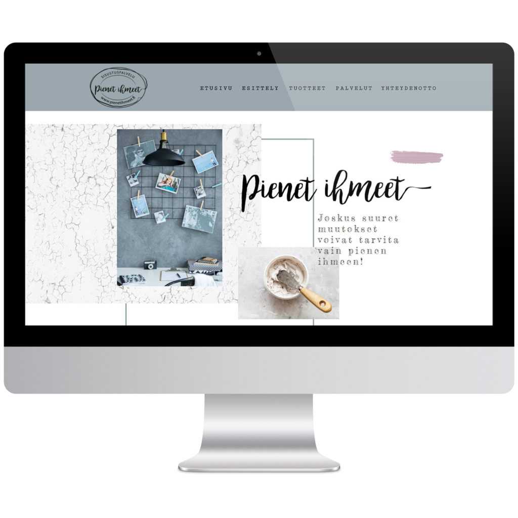 pienet ihmeet verkkosivusuunnittelu media-assari