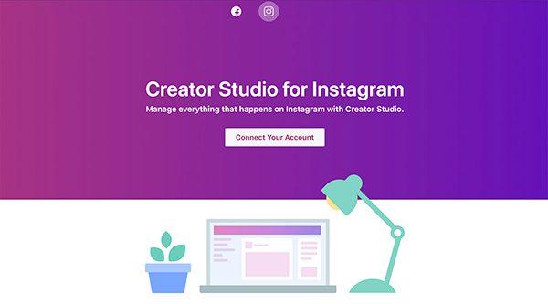 Instagram julkaiseminen tietokoneella | Creator Studio